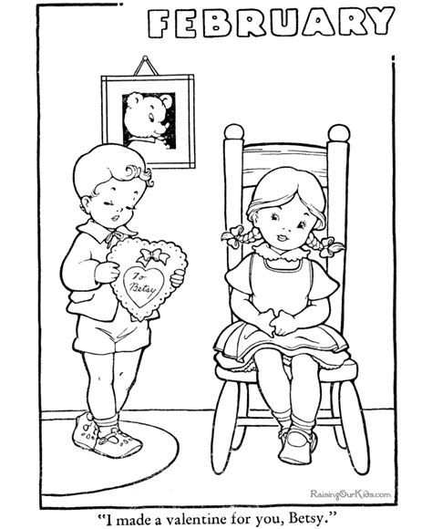 saint valentine day coloring pages 008