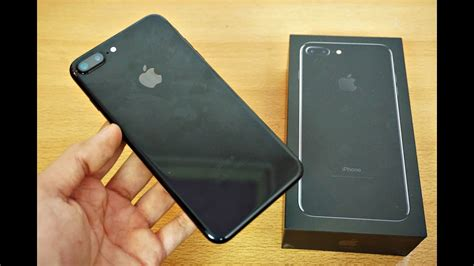 iphone   jet black gb unboxing