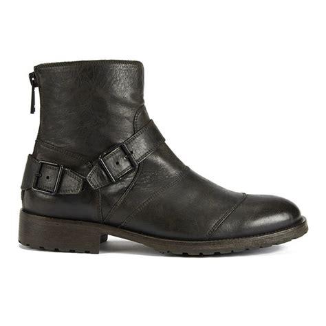 Black Master Boots Laskar Size 39 44 belstaff s trialmaster buckle leather boots