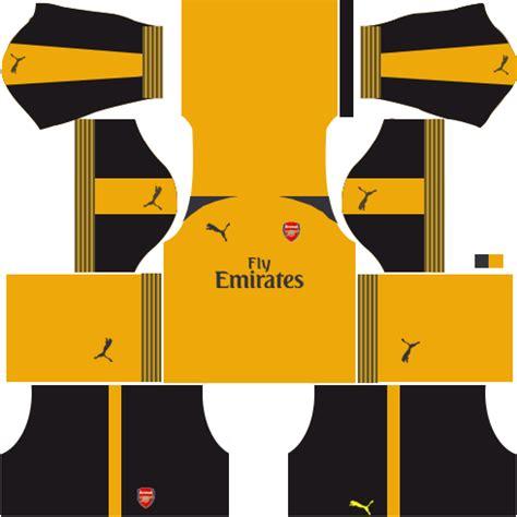 arsenal dls kit arsenal kits logo url 2017 2018 dream league soccer