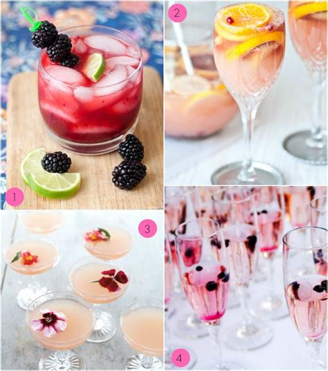 Signature Cocktails For Bridal Shower by 12 Fab Bridal Shower Cocktails Bridal Shower Ideas