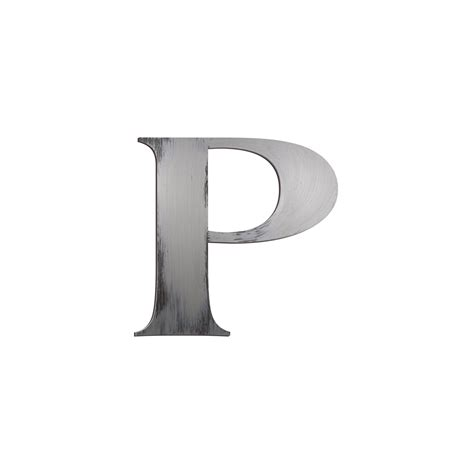 Block Letter Wall Decor by Individual Block Letters Wall Decor Letter P