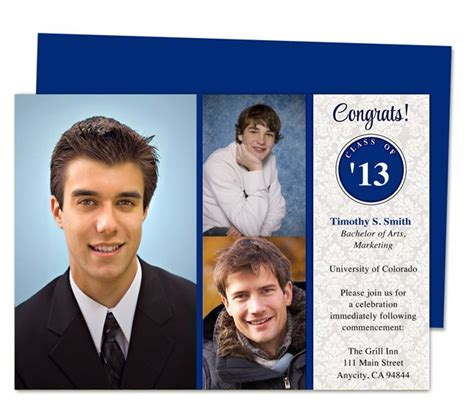 free templates for senior announcements 46 best printable diy graduation announcements templates