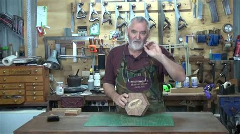 woodworking masterclass steve hay hexagonal marquetry box pt 5
