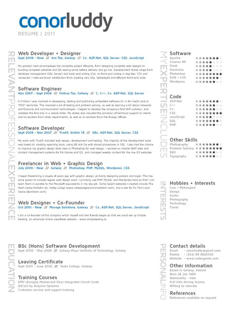 How To List Software Skills On Resume by Designing Your Resume Create The Impression