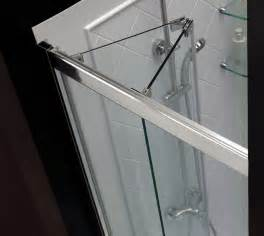 bi folding shower doors a bathroom with a view