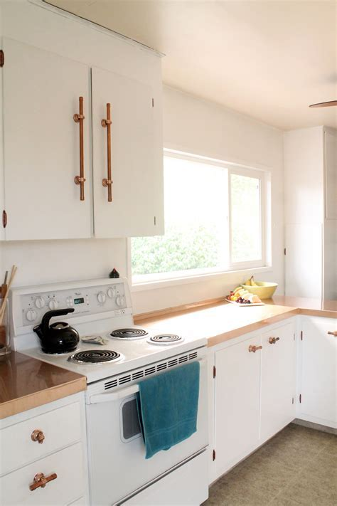 Home   Copper and White Kitchen Makeover Reveal