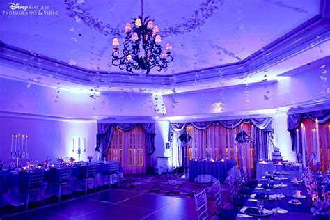 breathtaking uplighting and whimsical decor at the