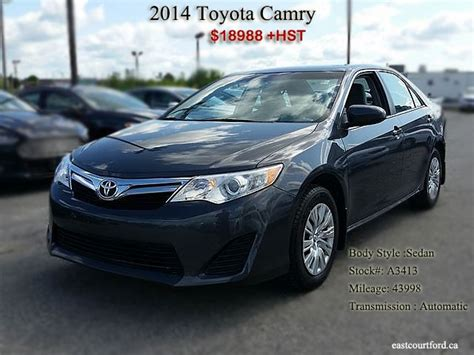 Buy Toyota Camry Buy Used 2014 Model Toyota Camry With Grey