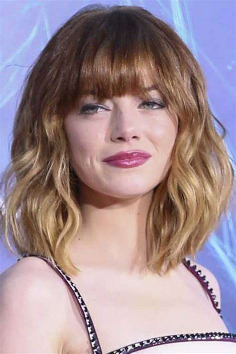 curly lob with bangs hair color ideas and styles for 2018 17 best hair ideas images on pinterest hair color hair