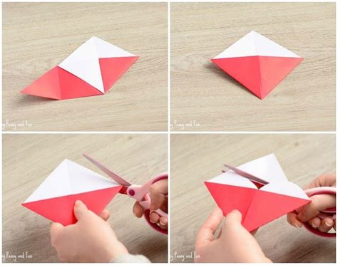 Origami Scissors - corner bookmarks easy peasy and