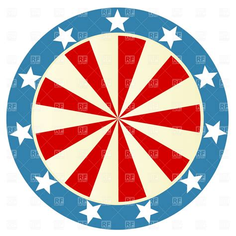 patriotic clipart patriotic badge royalty free vector clip image