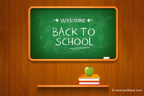 7 Back To School Solutions by Vector Back To School Background Psd Free Vectors