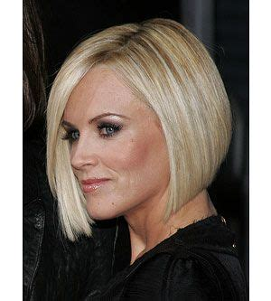 short haircut strong jaw a sleek angled bob with face framing layers can soften a