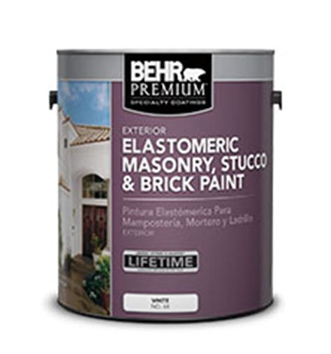 specialty elastomeric masonry stucco and brick paint behr premium 174 behr