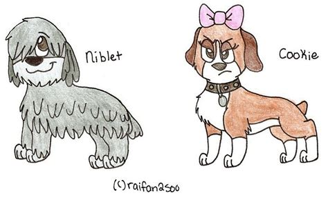 niblet pound puppies pound puppies niblet cookie by thebestbadnewz on deviantart