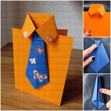 S Day Card Templates Shirt And Tie by Diy Tie And Shirt Greeting Card