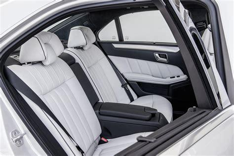 2013 Mercedes E350 Interior by 2013 Mercedes E Class Facelift Interior Rear Seats