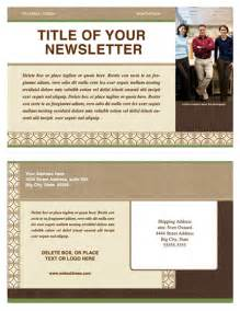 Business Newsletter Templates Free Download Newsletter Template Newsletter Templates Ready Made