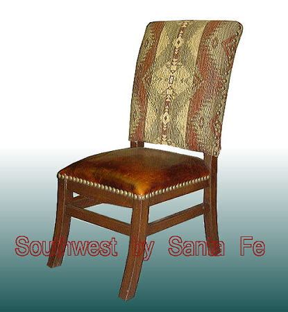 elegante southwestern style chairs