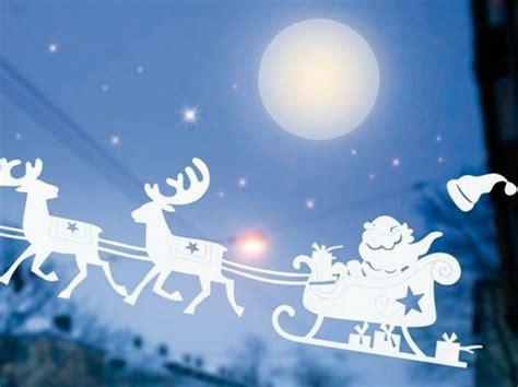 Fensterdeko Weihnachten Rentier by Fensterbilder Zu Weihnachten Originelle Bastelideen Zum