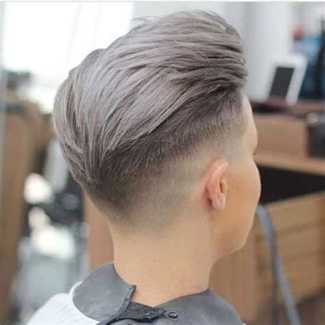 grey hair color on coolest guys on planet mens 20 trendy hair colors for men should see mens hairstyles