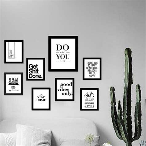 inspirational modular wall paint decoration design inspirational quotes wall art canvas print modern wall