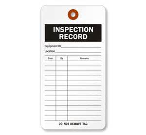 Extinguisher Inspection Tag Template by Extinguisher Inspection Template My Wallpaper