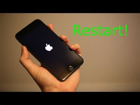 iphone 8 8 plus how to restart