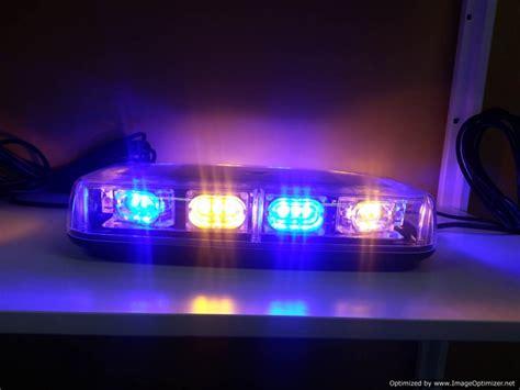 Blue Led Light Bar 11 Quot New Mini Emergency Warning Light Bar Ledonlineworld Led Light Bars Road Lights