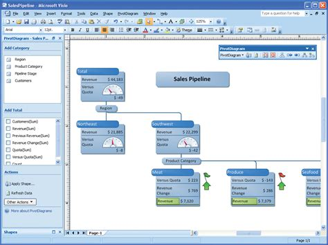 decision tree in visio decision tree diagram visio