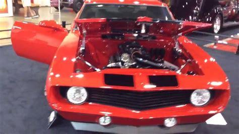 custom ls powered orange pro touring 1969 camaro