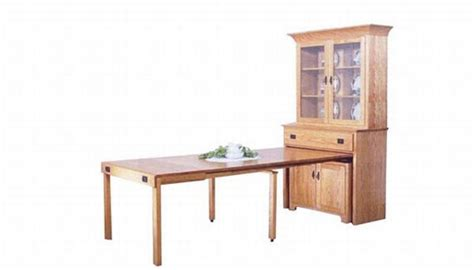 china cabinet with fold out table seven pull out furniture designs for a smart home hometone