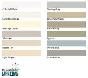 certainteed vinyl siding color chart certainteed vinyl siding color chart