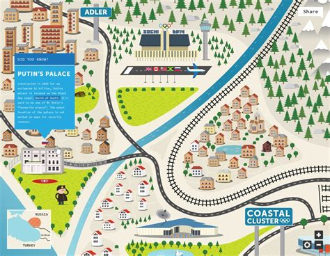 design online map interactive sochi 2014 winter olympics map reveals hidden