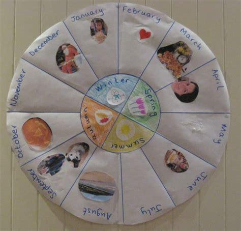 make a family calendar teach children about time make a family calendar