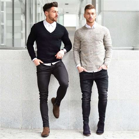 Black And White Shirt To Wear With Pants | the best shirts to wear with jeans the idle man