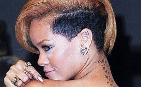 tattoo behind rihanna s ear rihanna s 24 tattoos their meanings body art guru