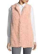 design lab fur vest vests fur vests denim vests more hudson s bay