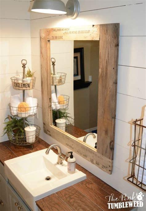 mirror for bathroom ideas best 25 pallet bathroom ideas on