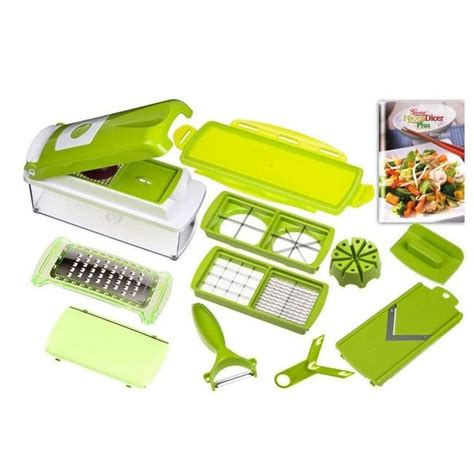 Genius Nicer Dicer genius nicer dicer plus 12 pieces achat vente ensemble