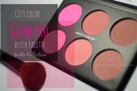 Ma Glow phấn m 225 tạo khối city color glow pro blush palette matte collection