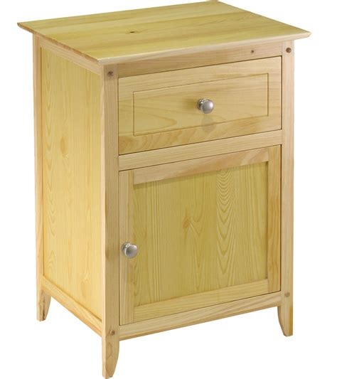 night stand one drawer night stand in nightstands
