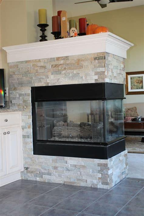 peninsula fireplace ideas best 25 3 sided fireplace ideas on modern