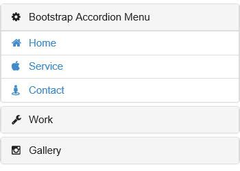bootstrap accordion layout bootstrap accordion menu