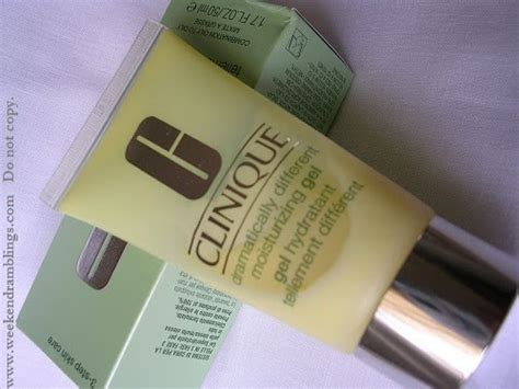 Weekend Ramblings Clinique Dramati Y Different Mositurizing Gel