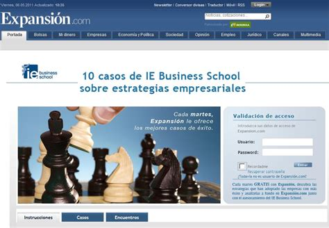 Ie Business School Global Mba by Ie S Business Cases In Expansi 211 N Ie Business School