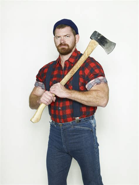 chopping wood  manlier feel  sports timecom
