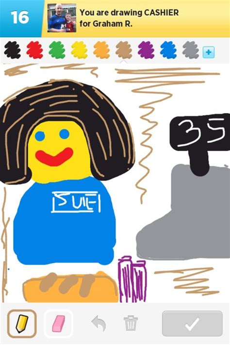 cashier drawings how to draw cashier in draw something
