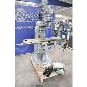 brand  acra variable speed knee milling machine
